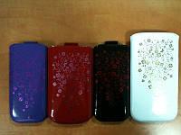 Чехол Nokia 305 La'Fleur белый (110,3x53,8x12,8)