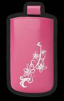 Чехол Nokia 5530 цветы сакура Valenta розовый (104.0х49.0х13.0)