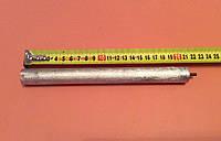 Анод магниевый Италия - Ø21мм / L=210мм / резьба M4*10мм   оригинал, фото 1