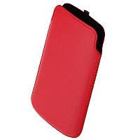 Чехол Samsung I8160 Galaxy Ace 2 1024 Valenta красный (Fly IQ239, nokia lumia 520 s7562, Keneksi T1)