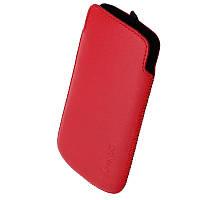 Чехол Samsung I8190 1024 Valenta красный