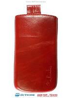 Чехол Samsung N9000 Galaxy Note 3 Valenta красный (подходит до IQ4503)