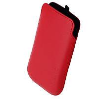 Чехол Samsung S5222 Star 3 Duos 1024 Valenta красный (подходит до Keneksi Art M1)