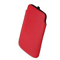 Чехол Samsung S7562 1024 Valenta красный (Fly IQ239, Nokia Lumia 520 i8160)