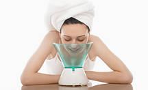 Парова сауна для омолоджування і зволоження шкіри обличчя інгалятор Benice BNS-016