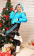 Женский спортивный костюм на синтепоне Норма, Батал (16)9007