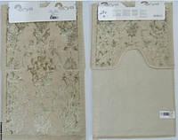 Набор ковриков для ванной и туалета  Arya Osmanlı слоновая кость