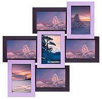 Мультирамка Тоскана — Фиолетовая (7 фото) ДЕРЕВО
