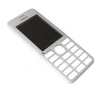 Передня панель Nokia 206 White (Original)