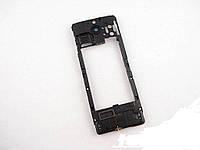 Средняя часть Nokia 515 Black оригинальная
