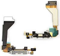 Шлейф Apple iPhone 4 Charge+Microphone White (copy)