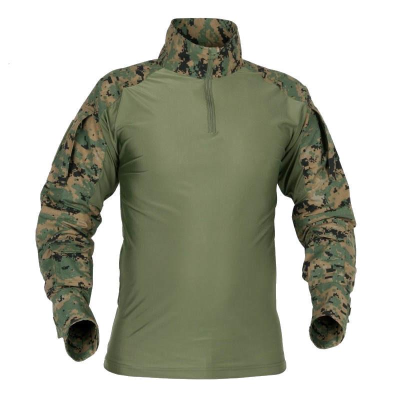 Рубашка тактическая Helikon Combat - US Woodland