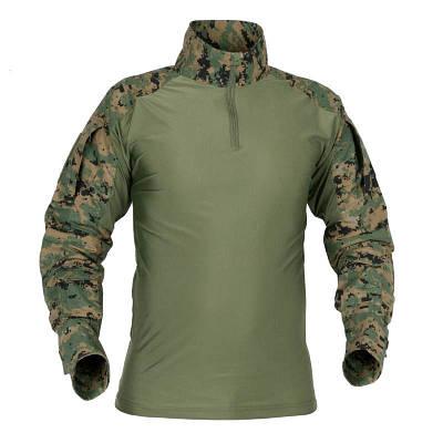 Рубашка тактическая Helikon Combat - Digital Woodland