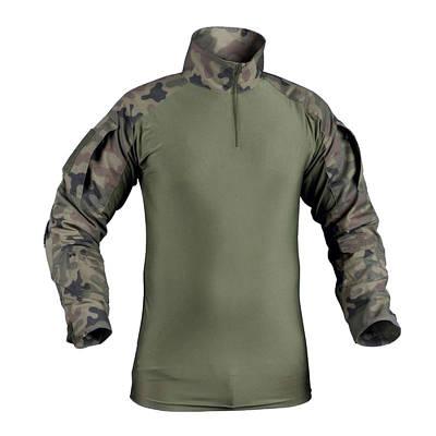 Рубашка тактическая Helikon Combat - PL Woodland