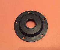 """Резиновый уплотнитель для бойлера, прокладка резиновая """"толстая"""" Ø125мм под фланец на 5 отверстий Ø8мм"""