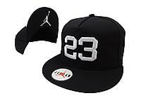 Черная кепка Jordan 23