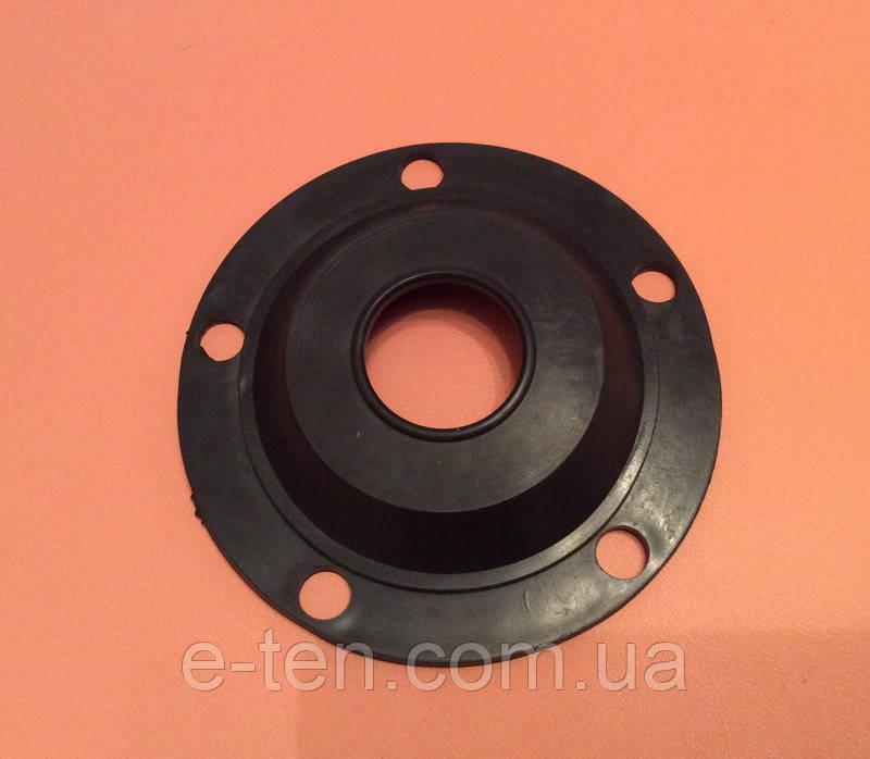 Резиновый уплотнитель для бойлеров, прокладка резиновая Ø130мм под фланец на 5 отверстий Ø12мм