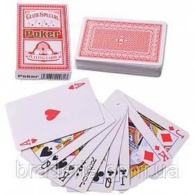 Карты игральные (54 шт/кол) POKER Club Special Y-001