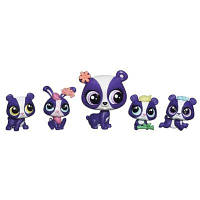 Hasbro Littlest Pet Shop Большая семейка - Панды