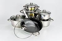 Набор посуды ( Набор кастрюль ) 12 пр. Mayer&Boch MB-6078 Mayer&Boch