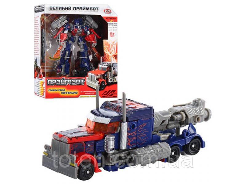 "Робот-трансформер ""Праймбот: Трейлер"" Play Smart"