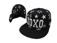 Cветящаяся черная кепка Xoxo