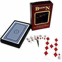 Карты игральные пластиковые Bosswin DL-2