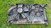 Радиатор Дэу Ланос / Daewoo Lanos с двумя вентиляторами