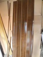 Дверь раздвижная гармошка глухая, орех 7103, глянцевая,100см