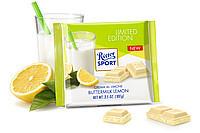 Шоколад Ritter Sport Buttermilch-Zitroen (белый с йогуртом и лимоном)