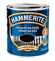 Фарба Hammerite гладка темно-зелена (750мл)