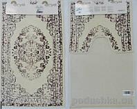 Набор из двух ковриков для ванной Arya Venus TR1001005 сиреневый