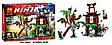 """Конструктор Bela 10461 Ниндзя го """"Остров тигриных вдов"""" (аналог LEGO Ninjago 70604) 449 деталей, фото 3"""