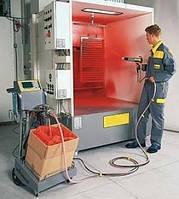 100 циклов на истирание покрытия с порошковой покраской и пескоструйкой от 5м2/час