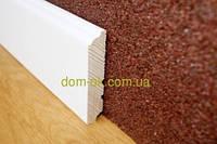 Плинтус деревянный белый ТИП 26* Плинтус белый 60*16мм