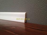 Плинтус деревянный белый ТИП 27 Плинтус белый 45*16мм