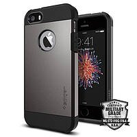 Чехол SGP Spigen Tough Armor для iPhone 5/5s/5se Gunmetal