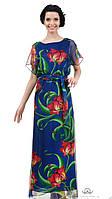 Элегантное летнее платье из шифона Брейт 3