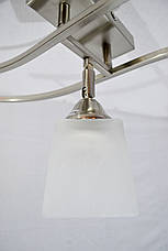 Люстра потолочная на 3 лампочки.   P3-1305/3 (SL-WT), фото 2