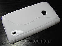 S-line чехол для Nokia Lumia 520 Белый
