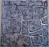 Формы для тротуарной плитки «Колотый камень —  Шагрень» глянцевые пластиковые АБС ABS