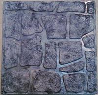 Формы для тротуарной плитки «Колотый камень —  Шагрень» глянцевые пластиковые АБС ABS, фото 1