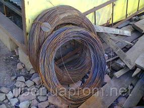 Проволока стальная цена ф4 ( мягкая вязальная ), фото 2