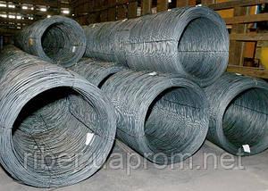 Проволока стальная цена ф4 ( мягкая вязальная ), фото 3