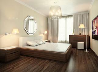 Мебель для спальни из натуральных материалов