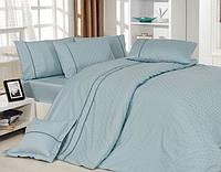Комплект постельного белья  First choice Vip сатин жаккард SVip 40 Armoni Su Yesili