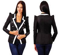 """Стильный элегантный женский пиджак """"LAGERFELD"""" в расцветках, фото 1"""