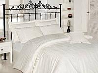 Комплект постельного белья - First choice Vip бамбук BVip-04 Aura Krem-1