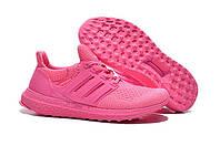 Женские кроссовки Адидас Ultra Boost All Pink