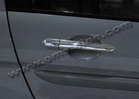Hyundai Accent 2006 накладки на ручки нерж